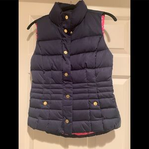 Navy and Pink Lilly Pulitzer Vest